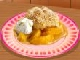 Peach Cobbler Cooking