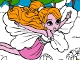 Barbie Thumbelina Online Coloring