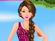 Cute Teenager Girl Dress Up