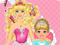 Princess and Baby Hairstyle