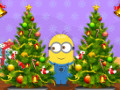 6 Diff Minion Christmas Tree