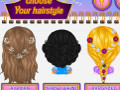 Baby Barbie Disney Hair Salon