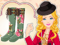 Barbie Autumn Wellies