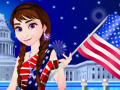Frozen Anna 4th of July
