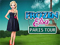 Frozen Elsa Paris Tour Dress Up