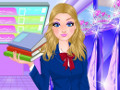 Super Barbie Goes to School