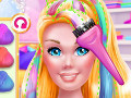 Super Barbie Hair and Makeup
